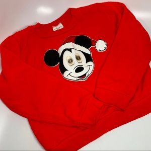 Other - Vintage USA moving eyes Mickey sweatshirt